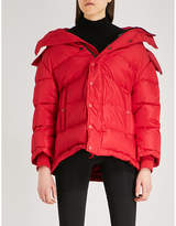 Balenciaga New Swing shell puffer jacket