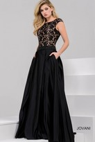 Jovani Stunning Evening Gown in Lace Bodice 36571