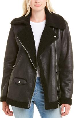 AVEC LES FILLES Asymmetrical Coat