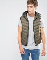Brave Soul Padded Layering Gillet Jacket