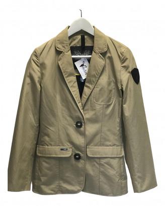 Nobis Brown Cotton Jacket for Women