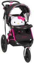 Baby Trend Hello Kitty® Pin Wheel Calypso Jogger Stroller by