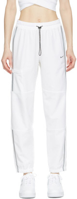 Nike White Flex Pro Woven Lounge Pants