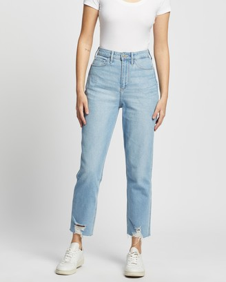 Hollister Curvy Clean Mom Jeans