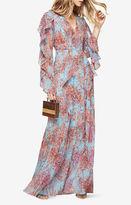 BCBGMAXAZRIA Kalen Floral-Print Maxi Dress