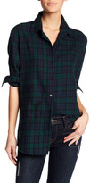 Vintage Havana Plaid Star Print Shirt