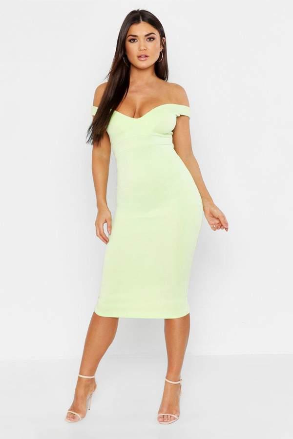 cc68a27d499e boohoo Green Wrap Day Dresses - ShopStyle UK