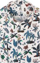 Paul Smith Men's Formal Botanical Print Shirt