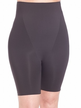 Spanx Trust Your Thinstincts High-Waist Mid-Thigh Plus-Size Shorts
