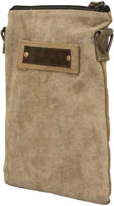 Vintage Addiction Recycled Military Tent Crossbody
