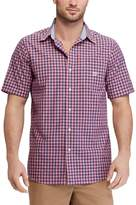Chaps Men's Classic-Fit Mini-Checked Easy-Care Button-Down Shirt