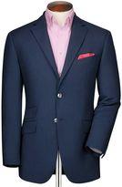 Charles Tyrwhitt Classic Fit Royal Birdseye Wool Wool Jacket Size 42