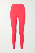 Thumbnail for your product : Girlfriend Collective + Net Sustain Compressive Recycled Stretch Leggings - Pink