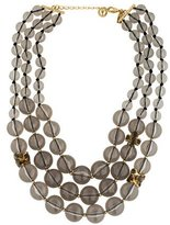 Kate Spade Triple Strand Graduated Bead Necklace