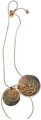 Gas Jeans Gold Metal Necklaces