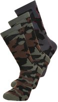 Brooklyn's Own By Rocawear 3 Pack Socks Khaki/grey