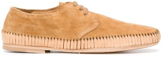 Officine Creative Woven Sole Loafers