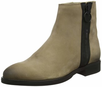 Tommy Hilfiger Women's Tommy Jeans Zip Flat Boot Ankle
