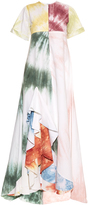 Rosie Assoulin Gonzo tie-dye ruffled maxi dress