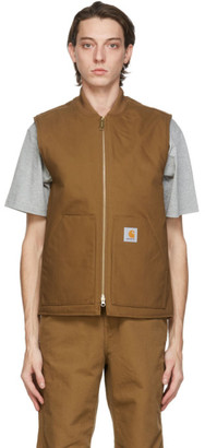 Carhartt Work In Progress Brown Rigid Vest