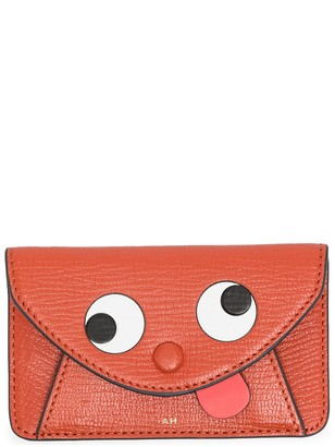 Anya Hindmarch Graphic-Print Leather Purse