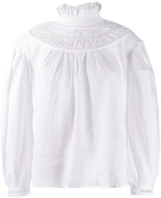 Etoile Isabel Marant Amalia ruffled blouse