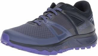 Salomon Women's Trail Running Shoes Trailster W Crown Blue/Navy Blazer/Purple Opulence Size: 9