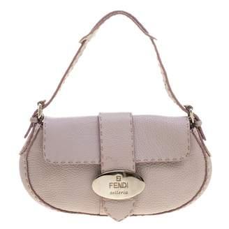Fendi Purple Leather Handbags