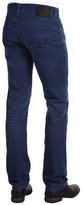 AG Adriano Goldschmied Matchbox Slim Straight in 3 Year Coated Blue (3 Year Coated Blue) - Apparel
