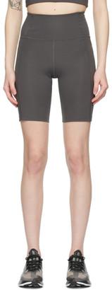 Girlfriend Collective Grey High-Rise Bike Shorts