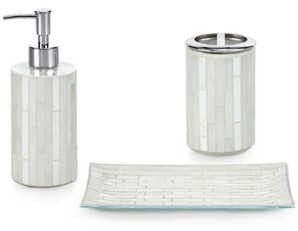 Glass Bathroom Accessories Sets Shop The World S Largest Collection Of Fashion Shopstyle