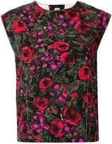 Marni floral print boxy-fit blouse