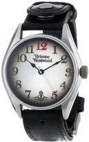 Vivienne Westwood Men's VV012BK Buckle Black Watch