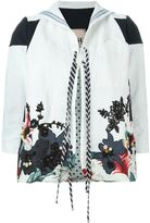 Antonio Marras floral embroidered jacket - women - Cotton/Linen/Flax/Polyamide/glass - 44