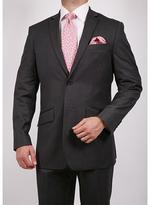 Ferrecci Men's Grey Tonal Stripe Slim Fit Suit