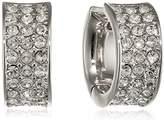 GUESS Women Stainless Steel Glass Earrings