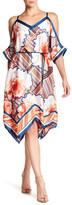 Rachel Roy Scarf Cold Shoulder Dress