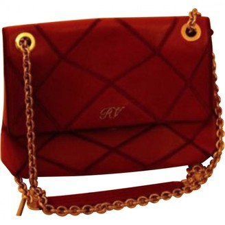 Roger Vivier Red Leather Handbags
