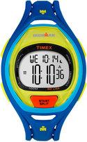 Timex Unisex Digital Ironman Sleek Blue Bracelet Watch 53mm TW5M01600JT