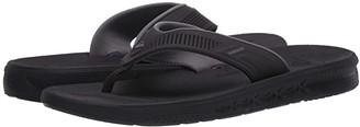 Quiksilver Current Water-Friendly Sandals (Black/Black/Brown) Men's Shoes