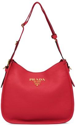 Prada Medium leather shoulder bag