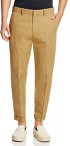 Vince Cotton Linen Cropped Trousers