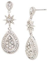 Betsey Johnson Betsey Blue Crystal Teardrop Earrings