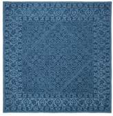 Safavieh Dip Dye Collection DDY151 Rug, Navy Blue, 7' Square