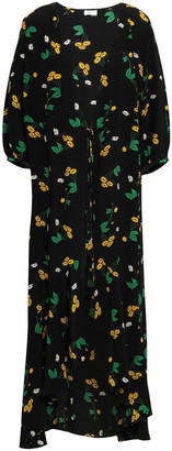 Rixo Noleen Floral-print Silk Jacket