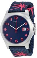 Marc by Marc Jacobs Jimmy Blue Dial Blue Nylon Men's Watch MBM5087