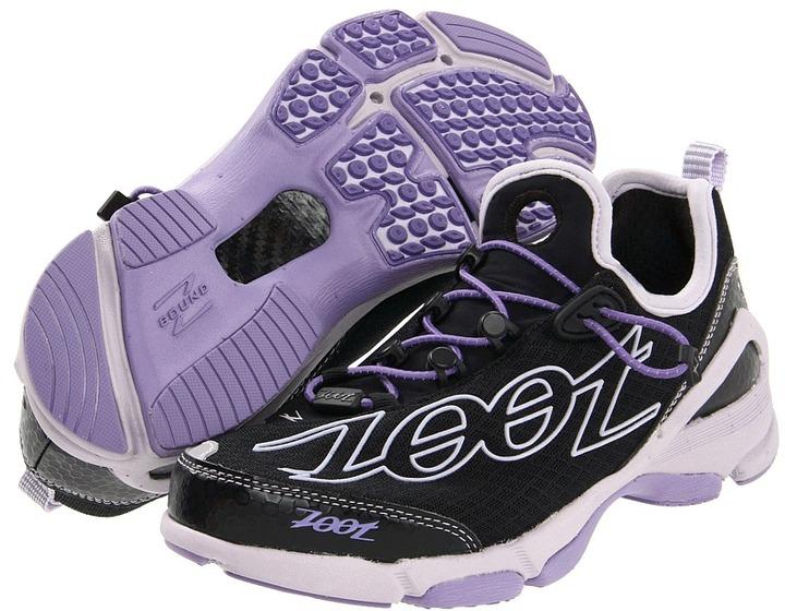 Zoot Sports Ultra TT 5.0 (Black/Amethyst/Silver) - Footwear