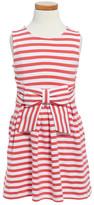 Kate Spade Jillian Stripe Bow Dress (Toddler & Little Girls)