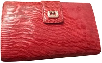 Gucci Red Exotic leathers Purses, wallets & cases