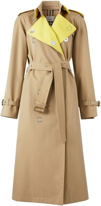 Burberry Colour Block Trench Coat